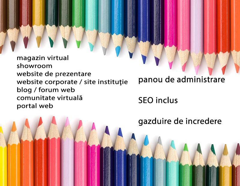 tipuri de site web design bucuresti